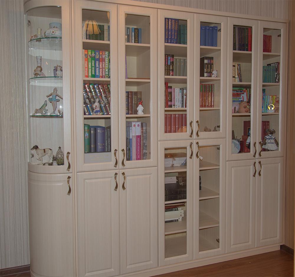 Книжные шкафы (обзор) купить мебель в москве, изготовление м.