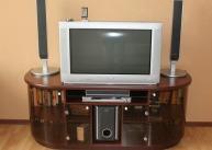 Тумба радиусная под телевизор