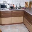 Угловая кухня - тумбы