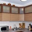 Угловая кухня верхний ряд