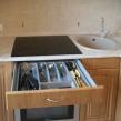 Кухня выдвижной ящик