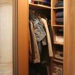 Встроенная гардеробная купе - внутреннее наполнение