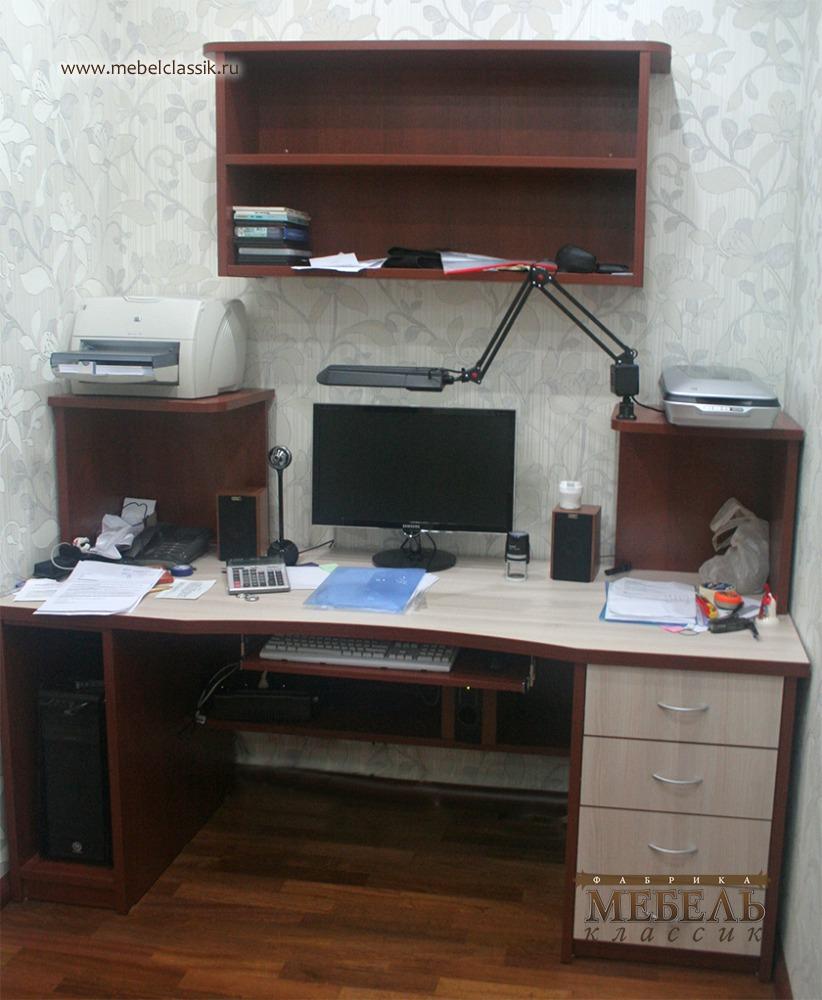 Компьютерный стол встроенный купить мебель в москве, изготов.