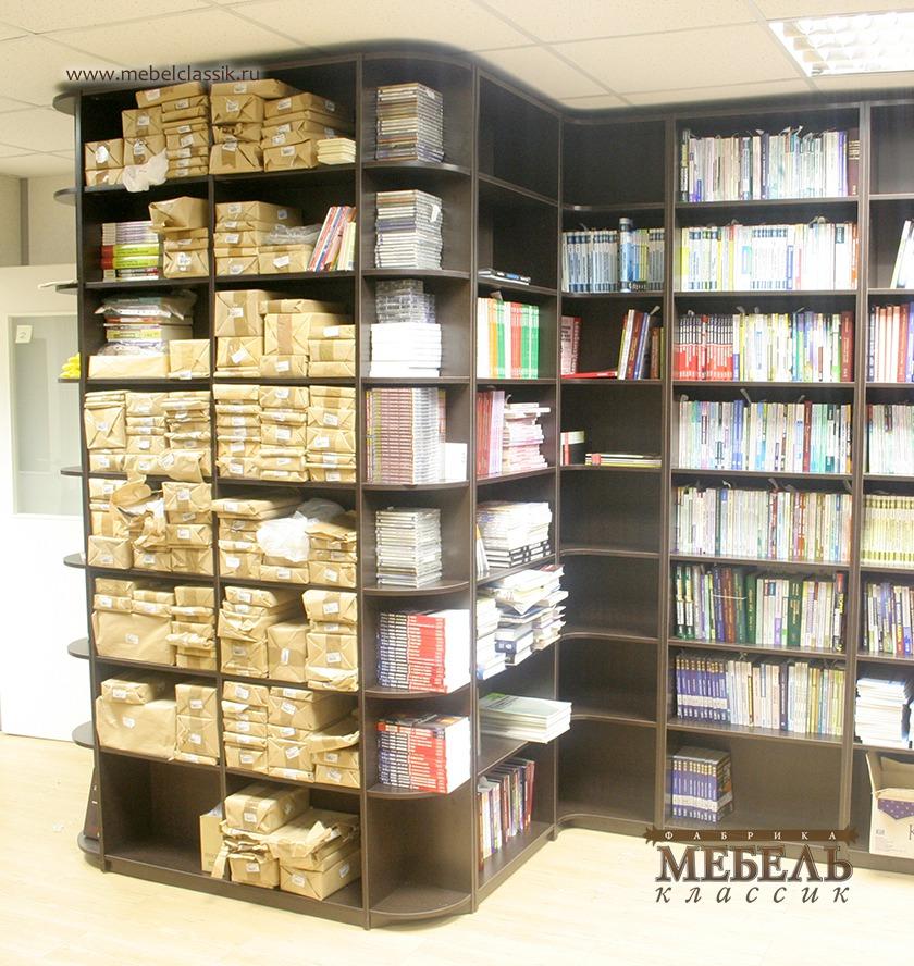 Шкафы библиотека купить мебель в москве, изготовление мебели.