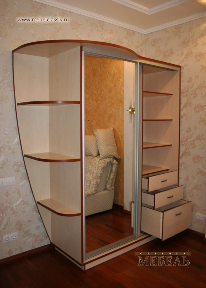 Шкаф купе в детскую комнату купить мебель в москве, изготовл.