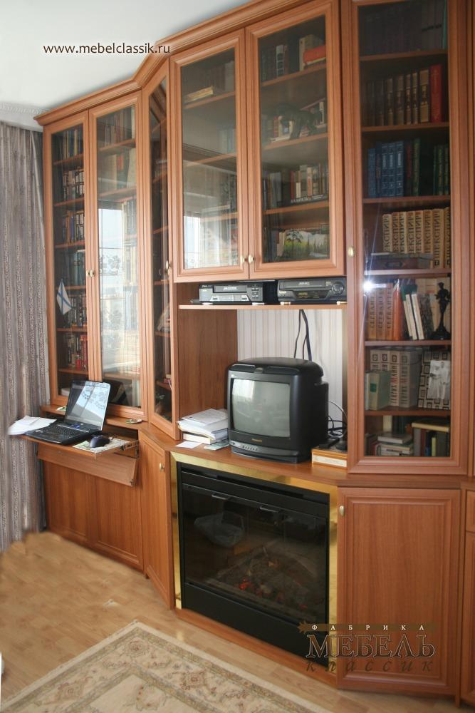 Книжный шкаф на заказ купить мебель в москве, изготовление м.