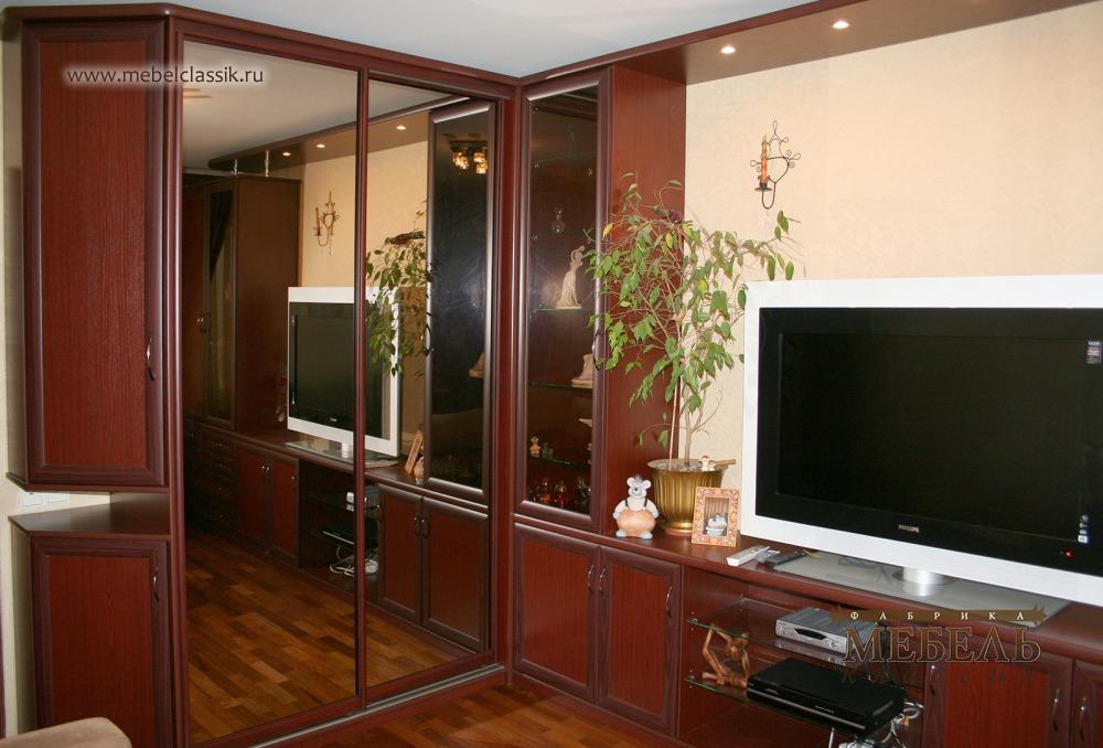 Угловая стенка купить мебель в москве, изготовление мебели н.