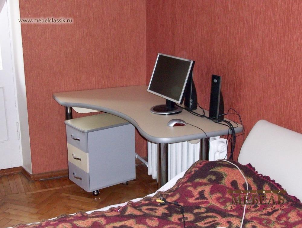 Компьютерный стол с тумбой купить мебель в москве, изготовле.