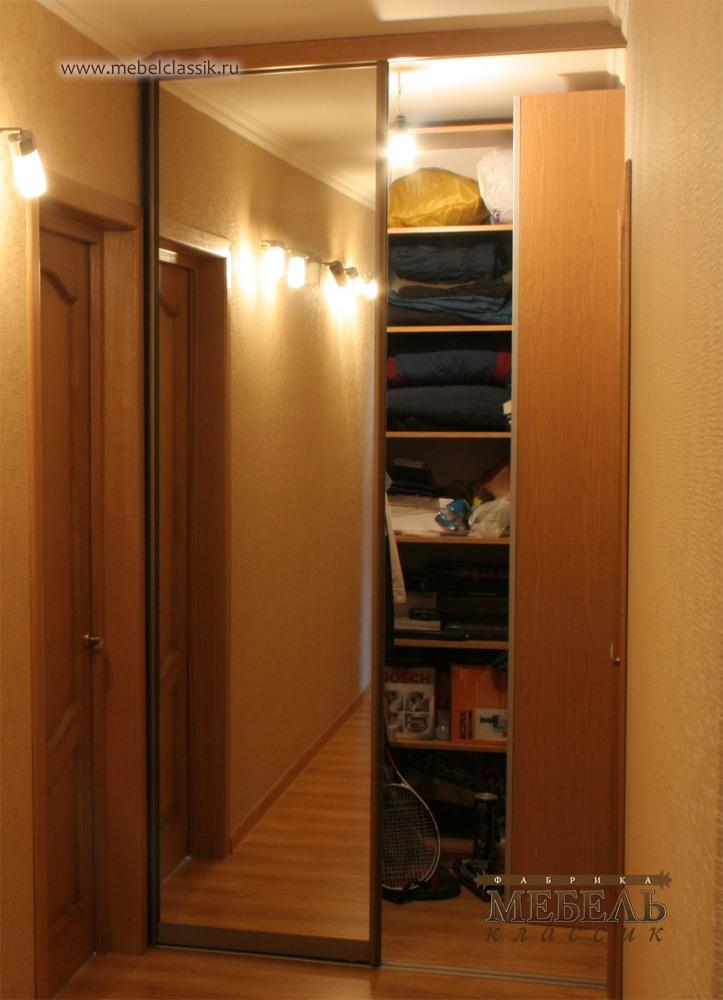 Встроенная гардеробная купить мебель в москве, изготовление .