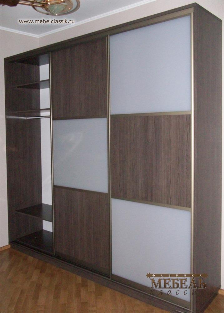 Трехстворчатый шкаф купе в прихожей купить мебель в москве, .