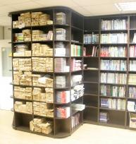 Шкафы библиотека