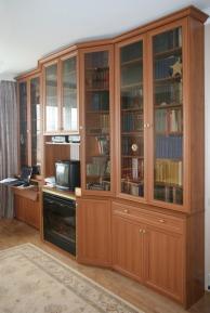 Книжный шкаф стенка