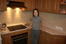 Качественная работа под маленькую кухню